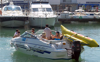 Marbella boat charters and watersports