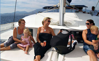 Estepona catamaran and yacht charters