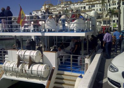Corporate & Group Charters from Puerto Banus - Marbella